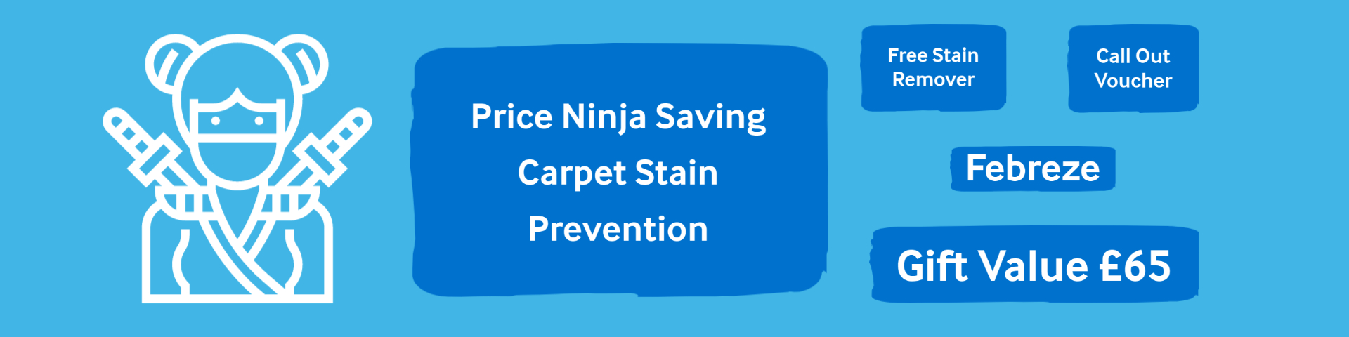 our carpet cleaning price includes this gift